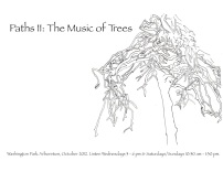 Paths II: The Music of Trees (2012) -- A sound art installation in Seattle's Washington Park Arboretum